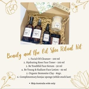 Beauty and the Oil Skin Ritual Kit
